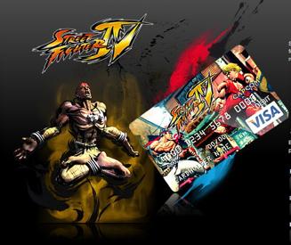 Resultado de imagen de Visa de 'Street Fighter IV'