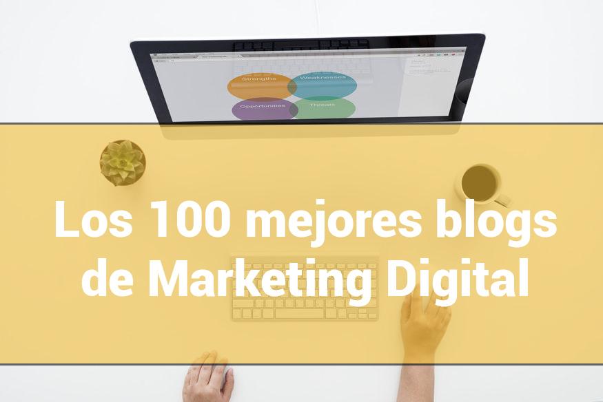 Resultado de imagen de 100 blogs marketing digital