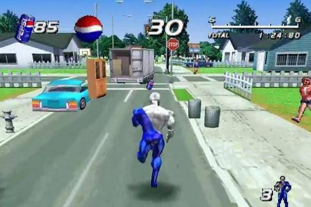 Resultado de imagen de Pepsi en videojuegos